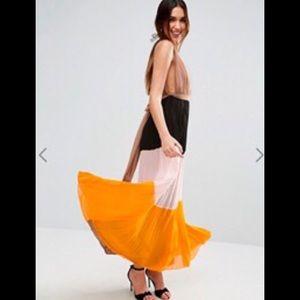 ASOS Color-block Gown